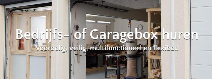 garagebox huren